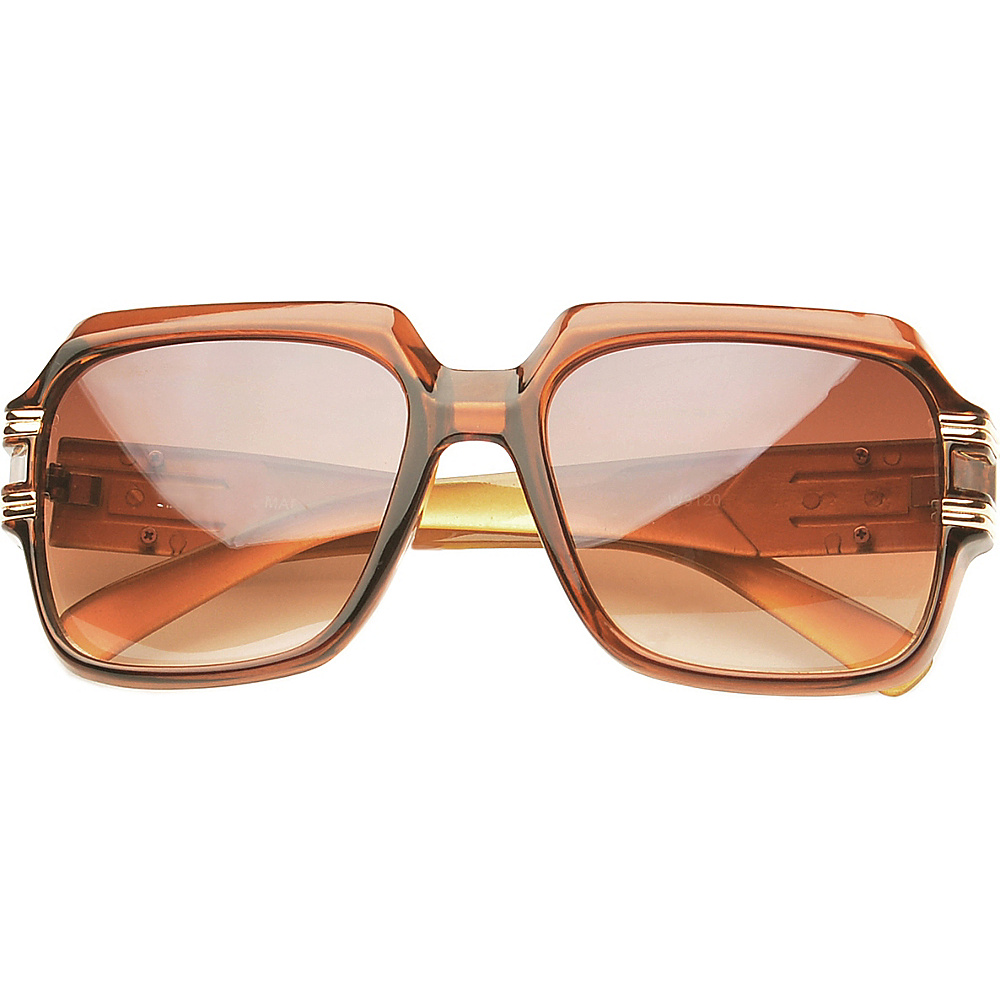 SW Global Eyewear Paxton Square Fashion Sunglasses Brown - SW Global Sunglasses - Fashion Accessories, Sunglasses