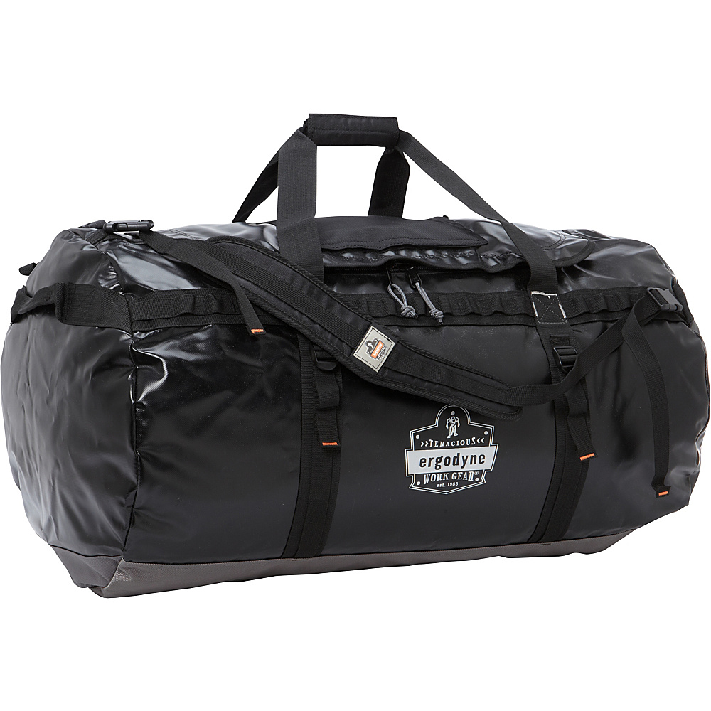 Ergodyne GB5030L Large Water Resistant Duffel Bag Black Ergodyne Outdoor Duffels