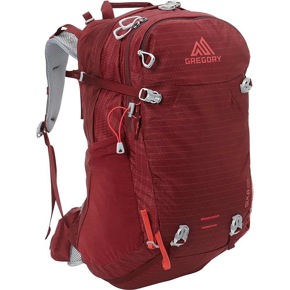 Gregory Sula 28 Backpack Ruby Red Gregory Day Hiking Backpacks