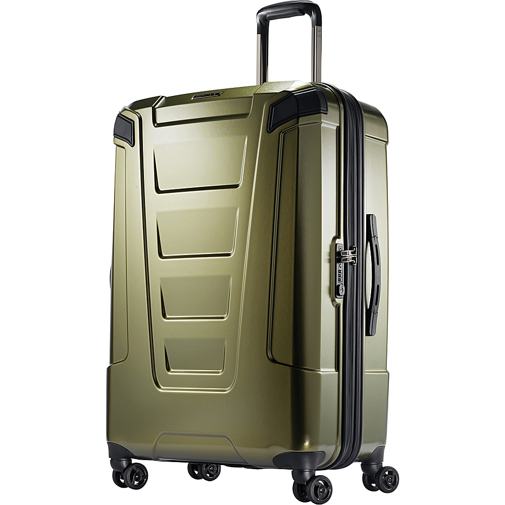 Boyt Mach PC Hardside Spinner 28 Olive Green - Boyt Hardside Luggage