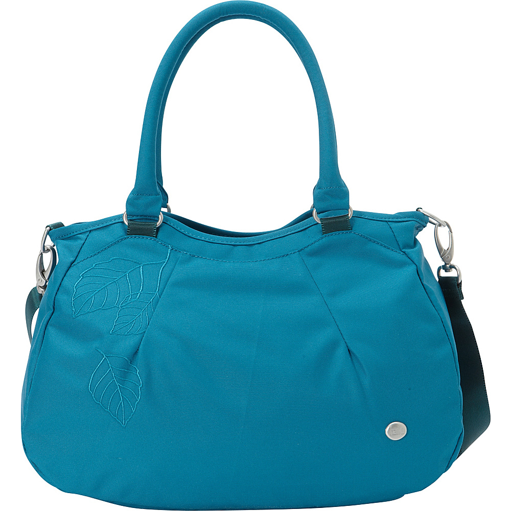 Haiku Harmony Tote Sea Blue Haiku Fabric Handbags