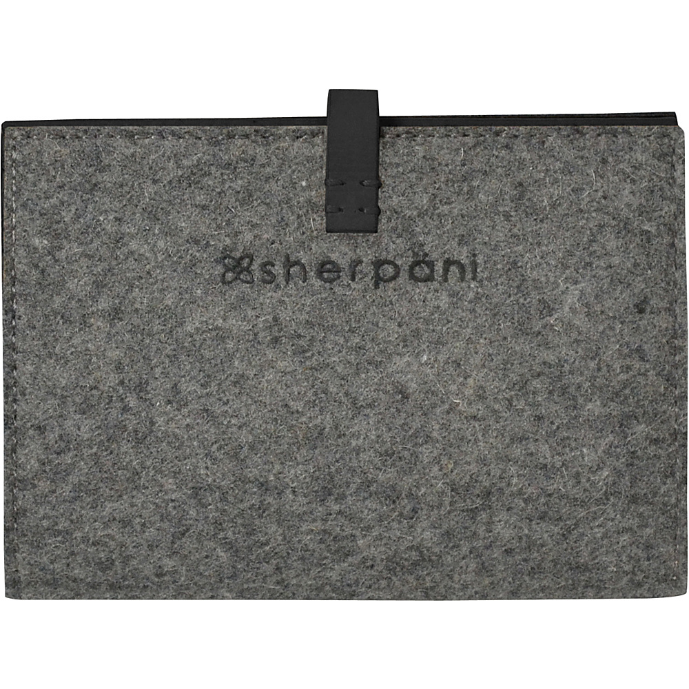 Sherpani Kingston Passport Wallet Slate Sherpani Travel Wallets