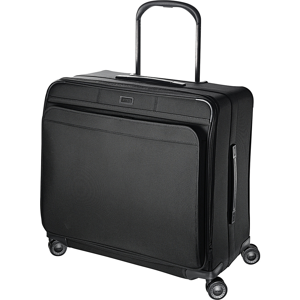 Hartmann Luggage Ratio Extended Journey Expandable Glider True Black Hartmann Luggage Softside Checked