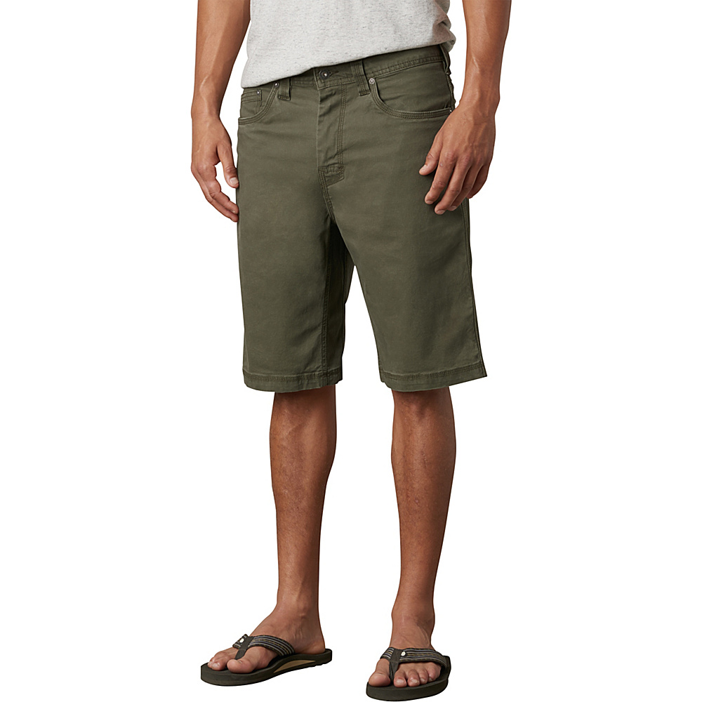 PrAna Bronson Shorts - 9 Inseam 40 - Cargo Green - PrAna Mens Apparel - Apparel & Footwear, Men's Apparel