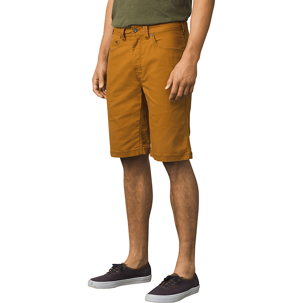 PrAna Bronson Shorts - 9 Inseam 36 - Cumin - PrAna Mens Apparel - Apparel & Footwear, Men's Apparel