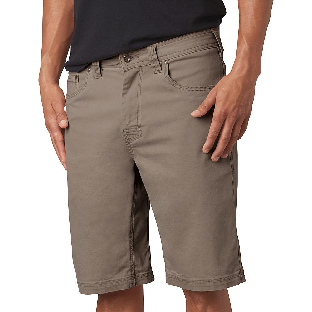 PrAna Bronson Shorts - 9 Inseam 35 - Mud - 31 - PrAna Mens Apparel - Apparel & Footwear, Men's Apparel