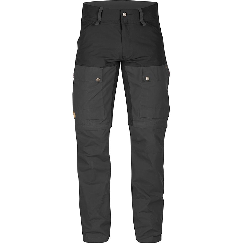 Fjallraven Keb Gaiter Trousers Regular 52 - Black - 34 - Fjallraven Womens Apparel - Apparel & Footwear, Women's Apparel