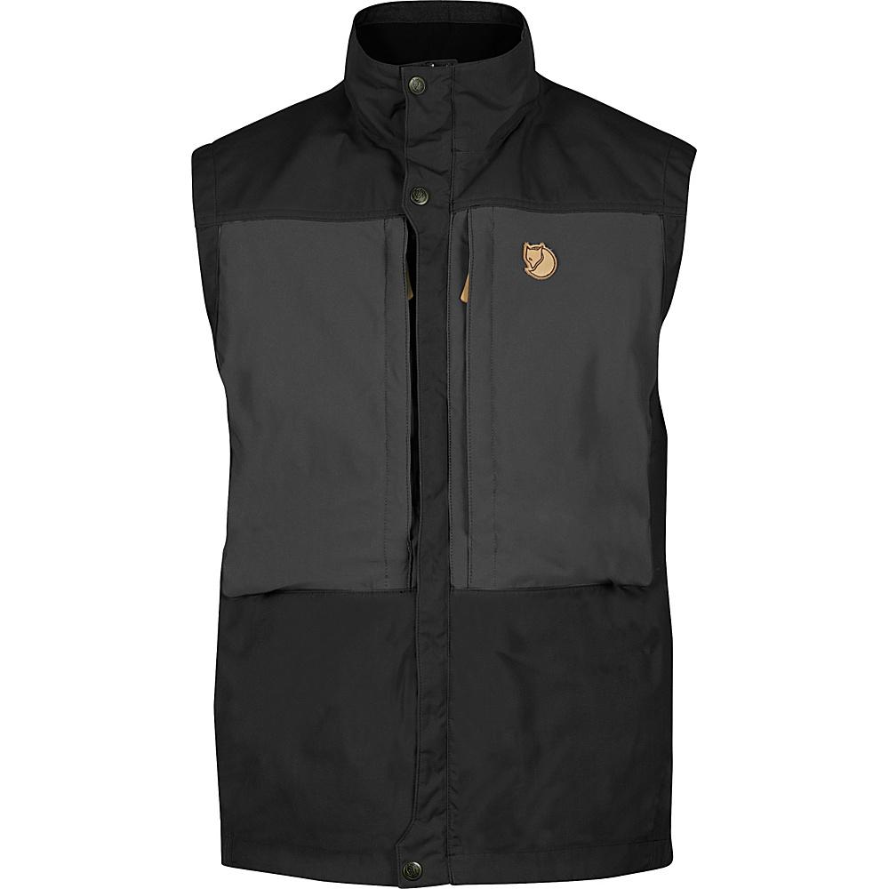 Fjallraven Keb Vest M - Black - 34 - Fjallraven Mens Apparel - Apparel & Footwear, Men's Apparel