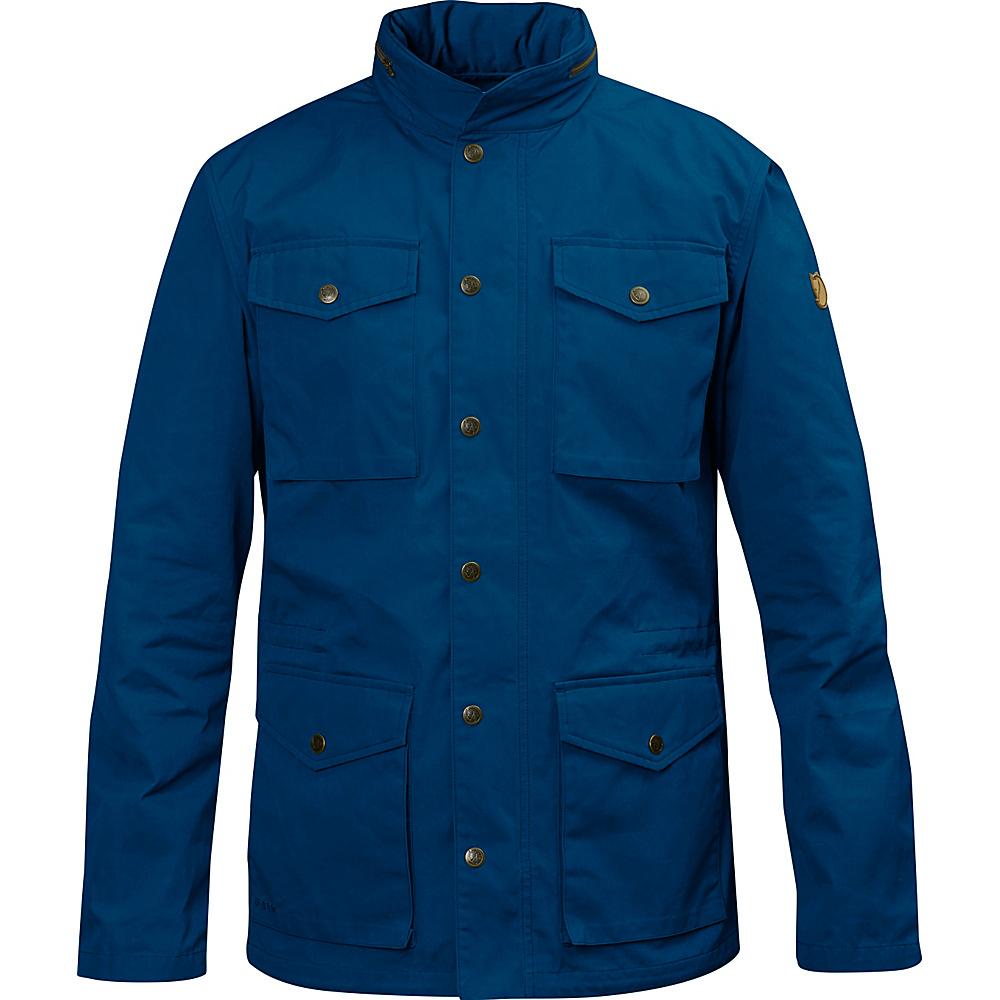 Fjallraven Raven Jacket L - Lake Blue - Fjallraven Mens Apparel - Apparel & Footwear, Men's Apparel