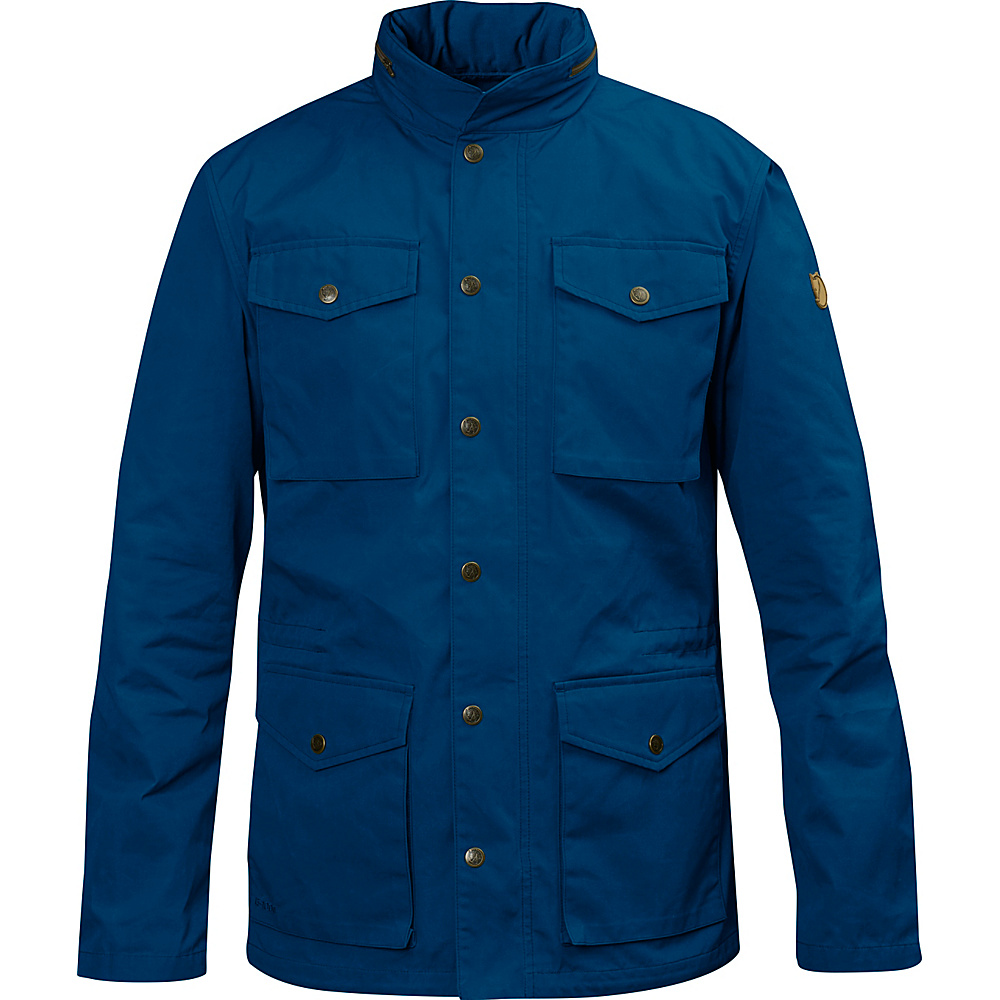 Fjallraven Raven Jacket XL - Lake Blue - Fjallraven Mens Apparel - Apparel & Footwear, Men's Apparel
