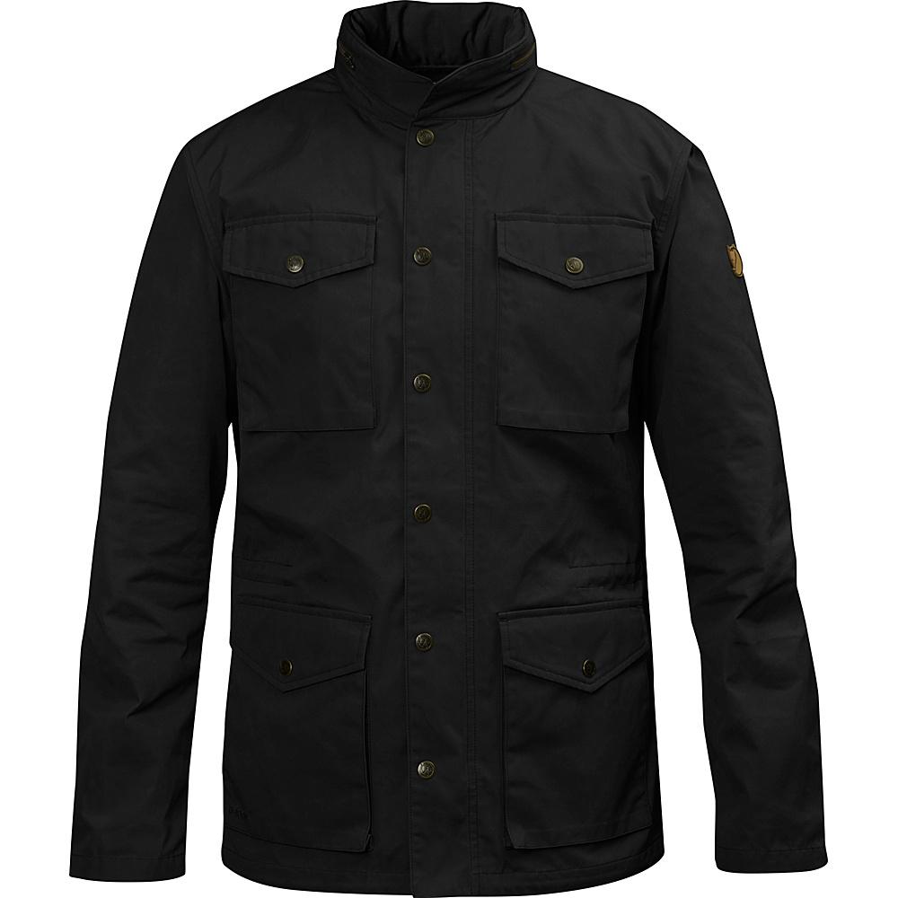 Fjallraven Raven Jacket XS - Black - 34 - Fjallraven Mens Apparel - Apparel & Footwear, Men's Apparel