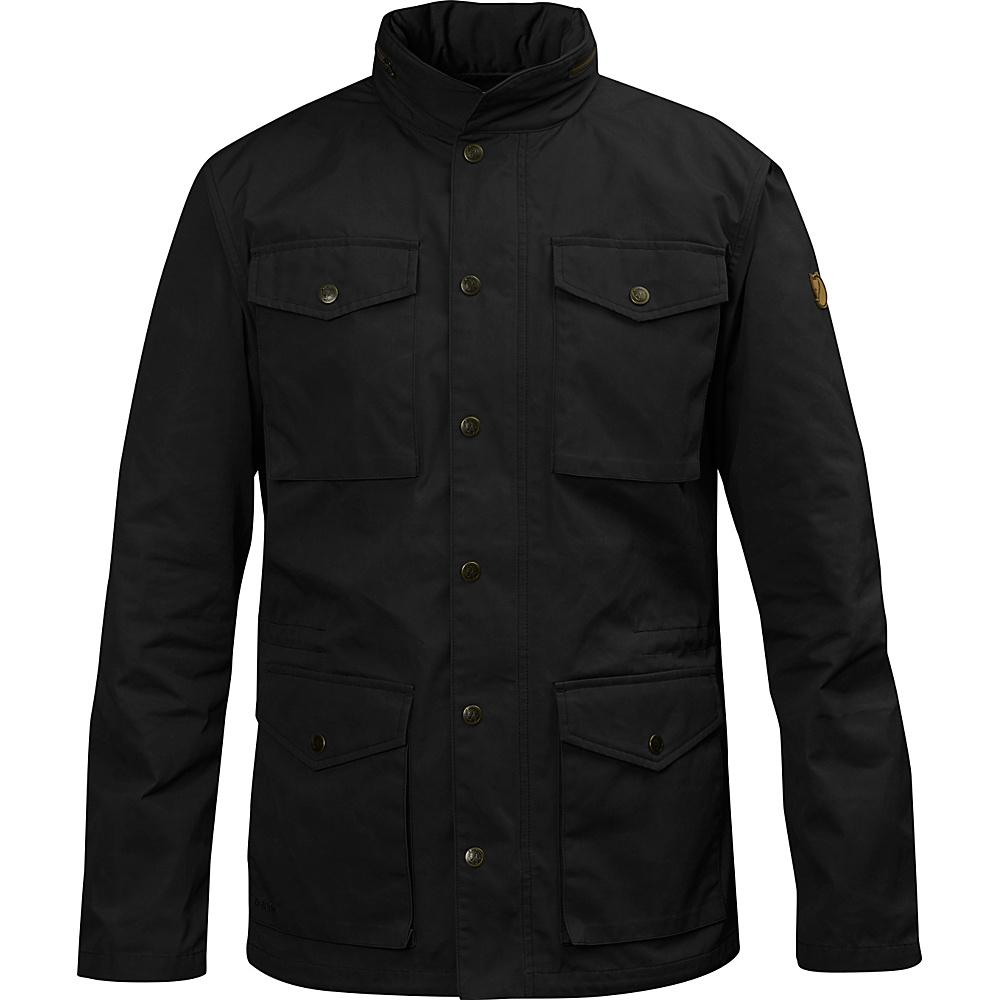 Fjallraven Raven Jacket L - Black - 34 - Fjallraven Mens Apparel - Apparel & Footwear, Men's Apparel