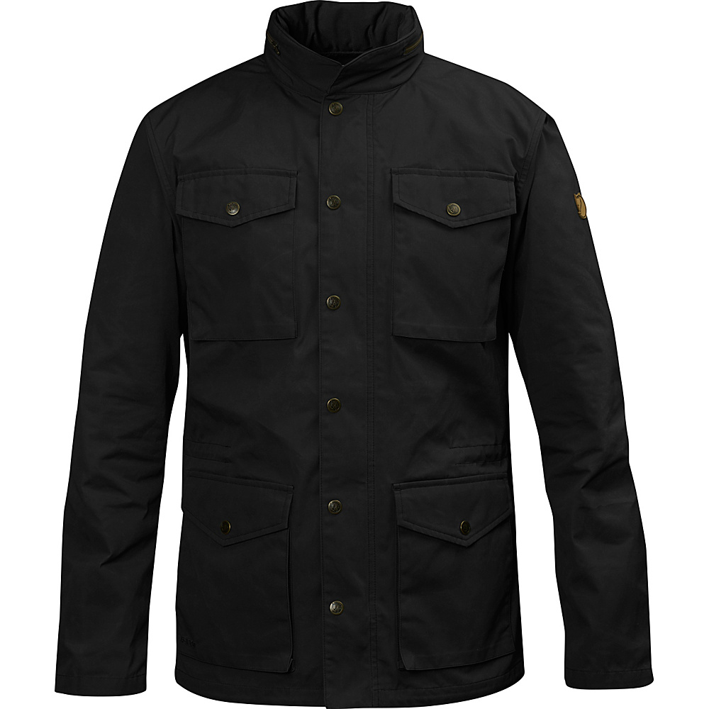 Fjallraven Raven Jacket XXL - Black - 34 - Fjallraven Mens Apparel - Apparel & Footwear, Men's Apparel