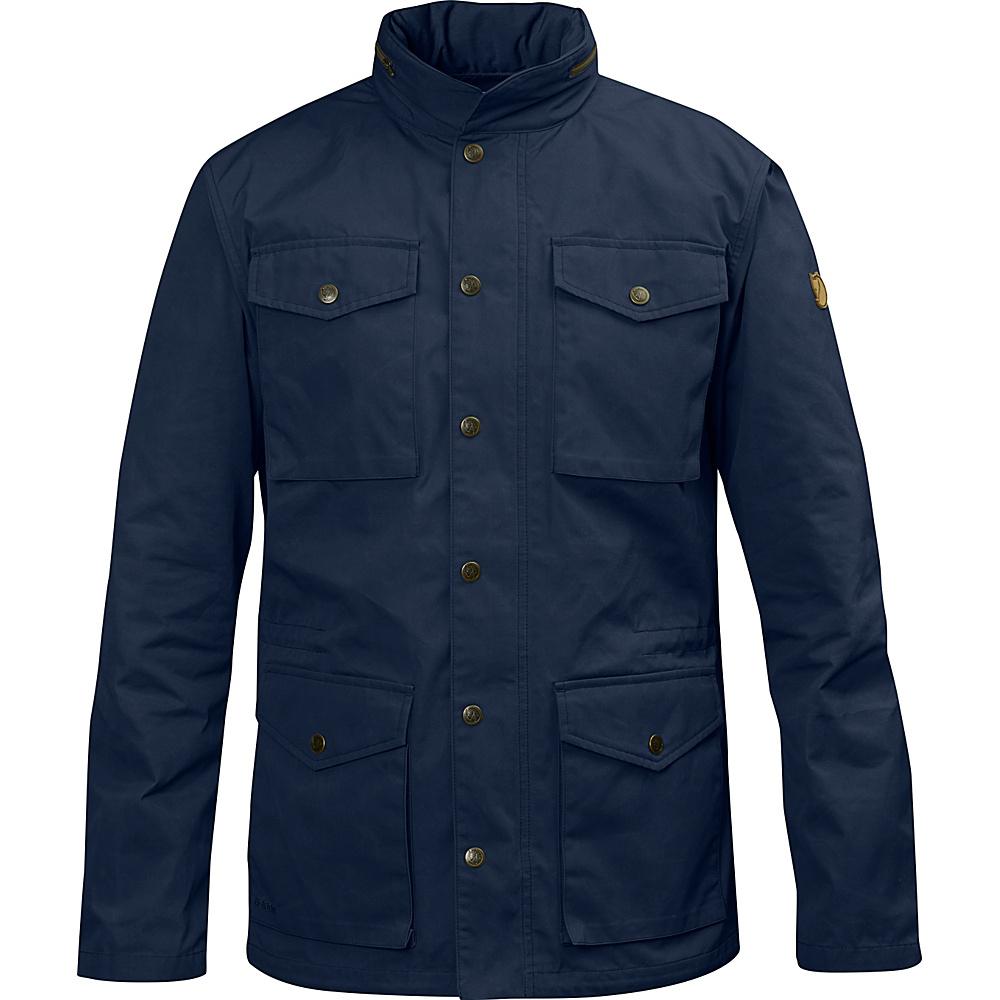 Fjallraven Raven Jacket L - Dark Navy - Large - Fjallraven Mens Apparel - Apparel & Footwear, Men's Apparel