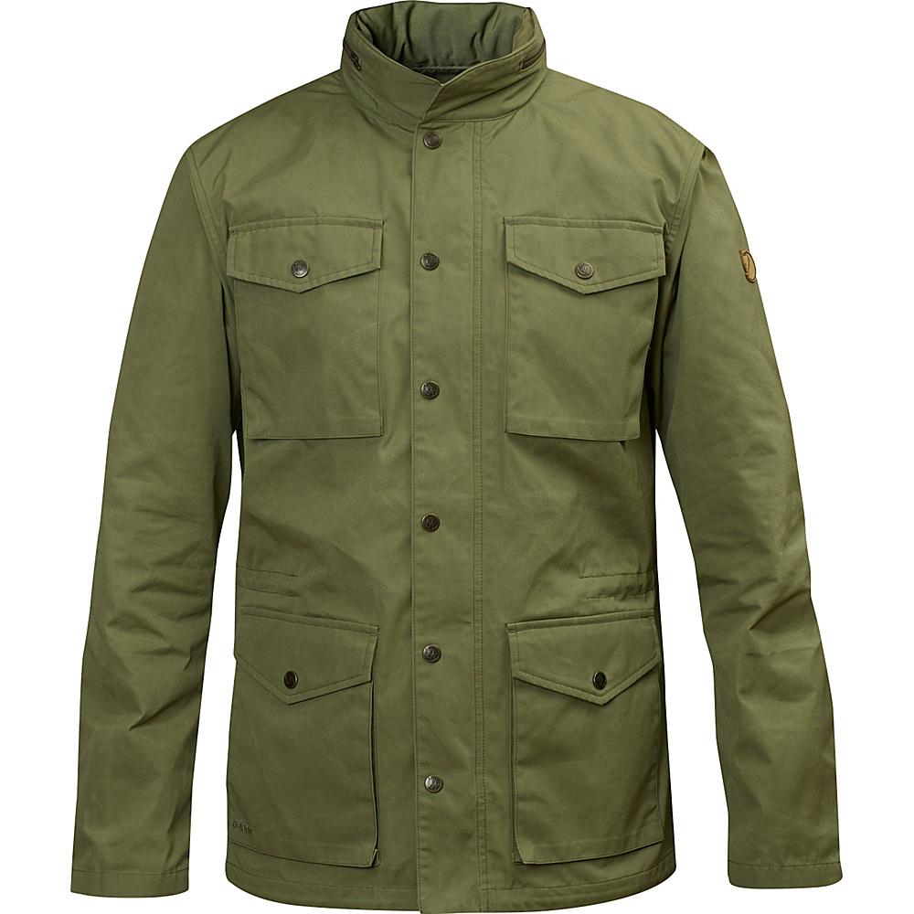 Fjallraven Raven Jacket S - Green - Fjallraven Mens Apparel - Apparel & Footwear, Men's Apparel
