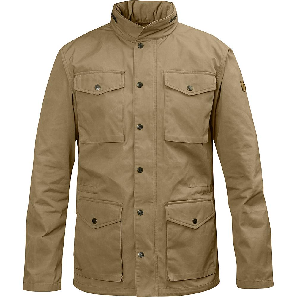 Fjallraven Raven Jacket L - Sand - Fjallraven Mens Apparel - Apparel & Footwear, Men's Apparel