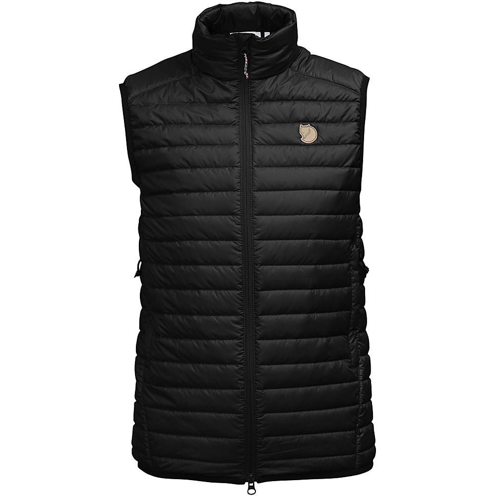 Fjallraven Womens Abisko Padded Vest L - Black - 34 - Fjallraven Womens Apparel - Apparel & Footwear, Women's Apparel
