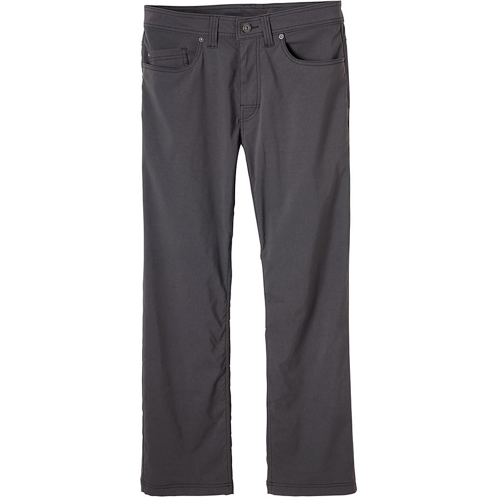 PrAna Brion Pants - 32 Inseam 32 - Charcoal - PrAna Mens Apparel - Apparel & Footwear, Men's Apparel
