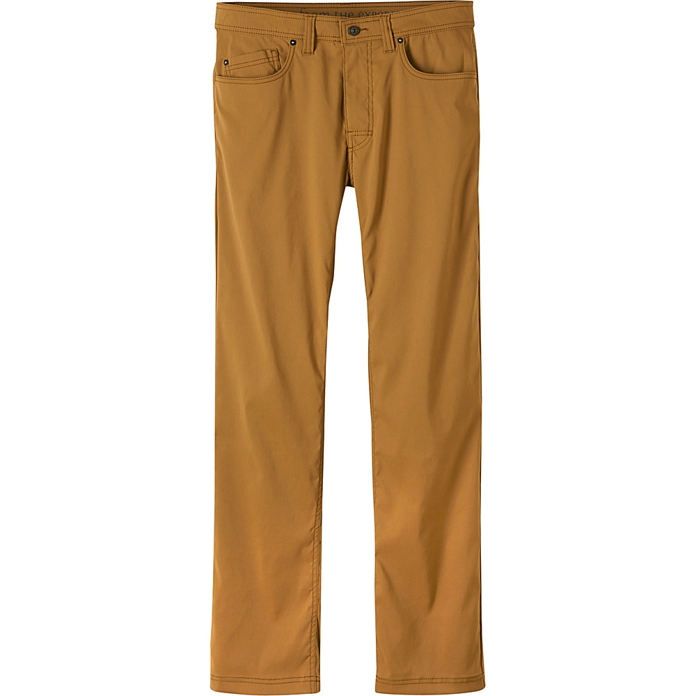 PrAna Brion Pants - 32 Inseam 34 - Dark Ginger - PrAna Mens Apparel - Apparel & Footwear, Men's Apparel
