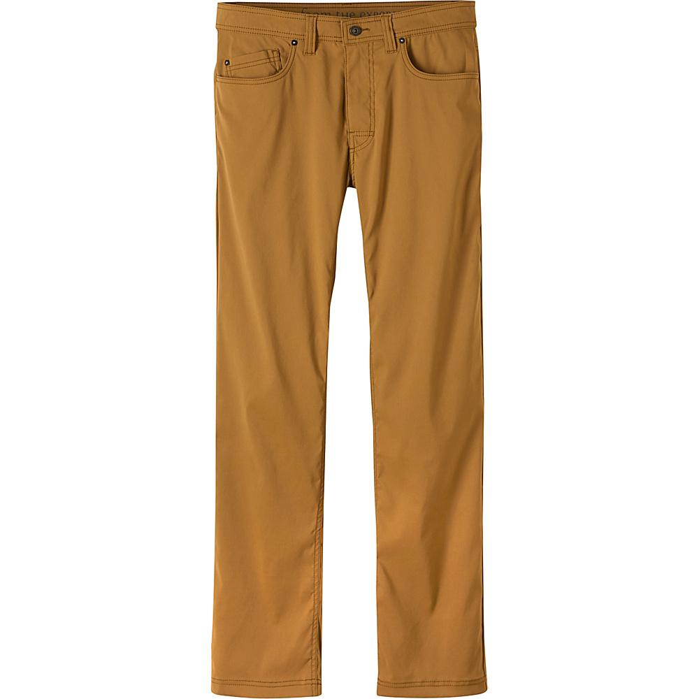 PrAna Brion Pants - 32 Inseam 36 - Dark Ginger - PrAna Mens Apparel - Apparel & Footwear, Men's Apparel