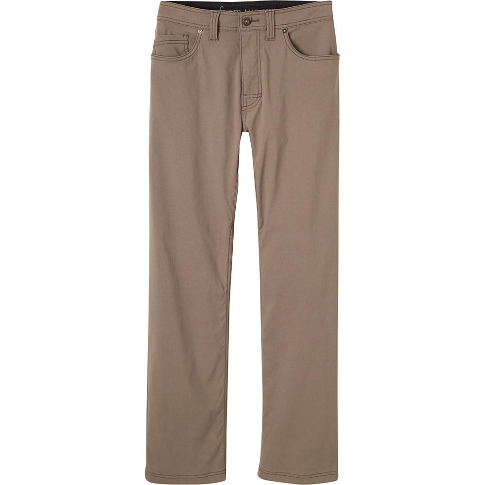 PrAna Brion Pants - 32 Inseam 36 - Mud - PrAna Mens Apparel - Apparel & Footwear, Men's Apparel