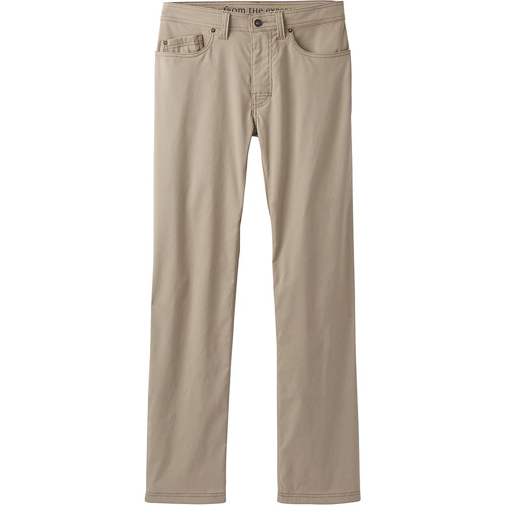 PrAna Brion Pants - 32 Inseam 34 - Dark Khaki - PrAna Mens Apparel - Apparel & Footwear, Men's Apparel