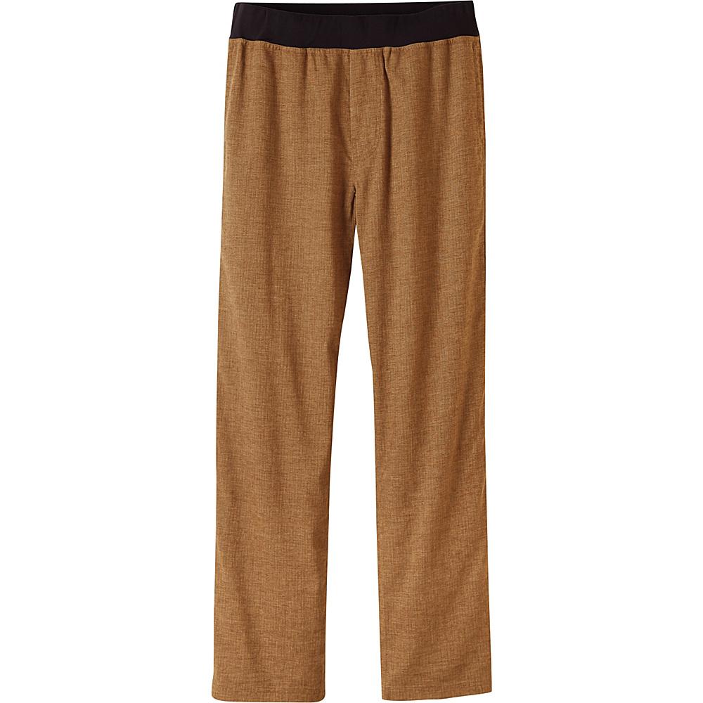 PrAna Vaha Pants - 32 Inseam L - Dark Ginger - PrAna Mens Apparel - Apparel & Footwear, Men's Apparel