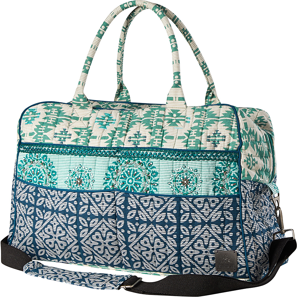 PrAna Bhakti Weekender Bag Emerald Waters - PrAna Travel Duffels - Duffels, Travel Duffels