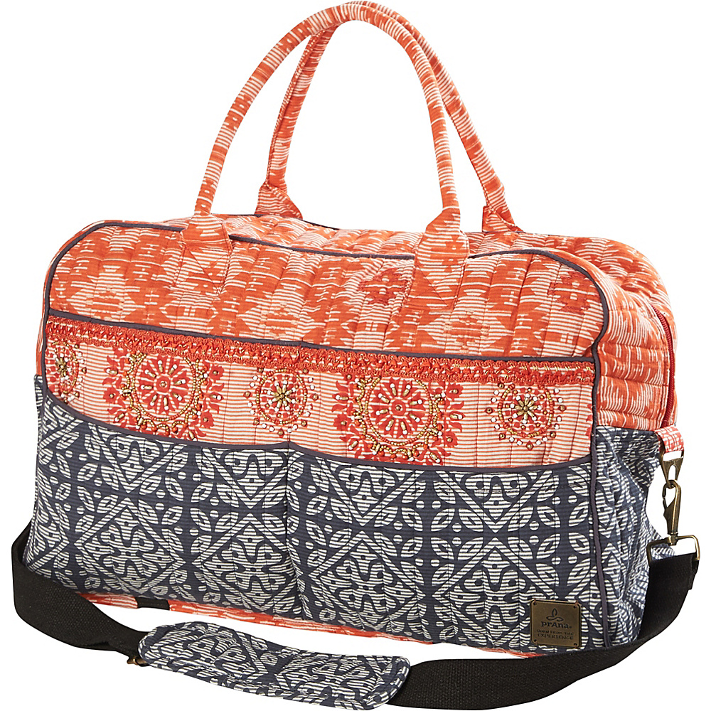 PrAna Bhakti Weekender Bag Summer Peach - PrAna Travel Duffels - Duffels, Travel Duffels