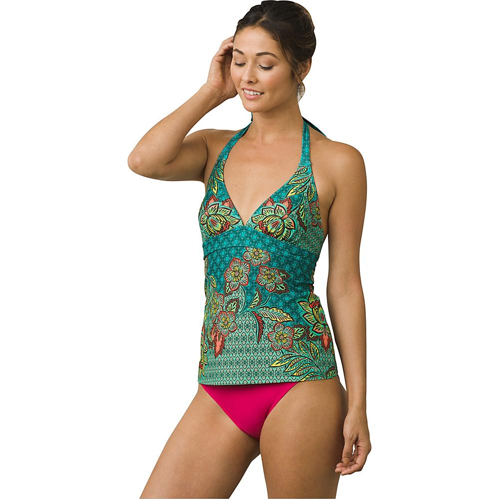 PrAna Lahari Tankini Top XS - Dragonfly Fleur Damour - PrAna Womens Apparel - Apparel & Footwear, Women's Apparel