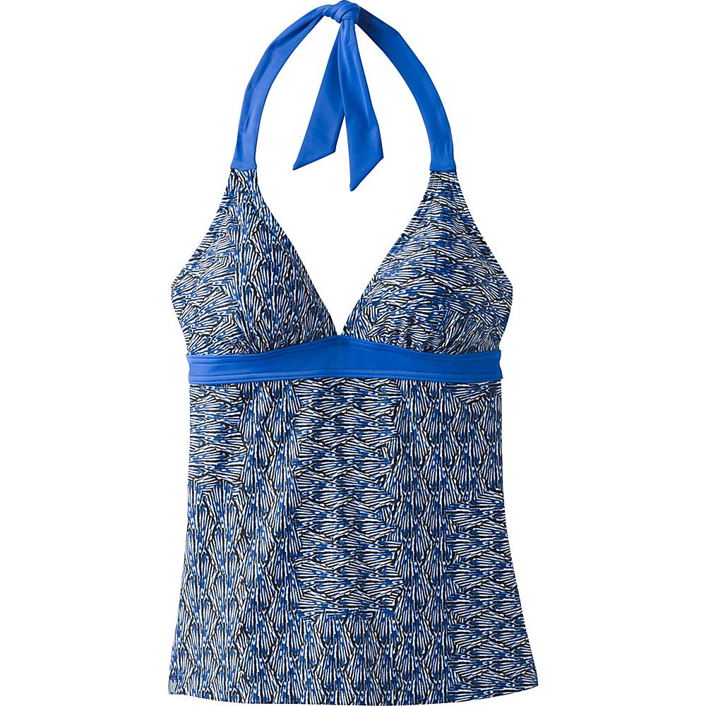 PrAna Lahari Tankini Top XL - Blue Seashells - PrAna Womens Apparel - Apparel & Footwear, Women's Apparel