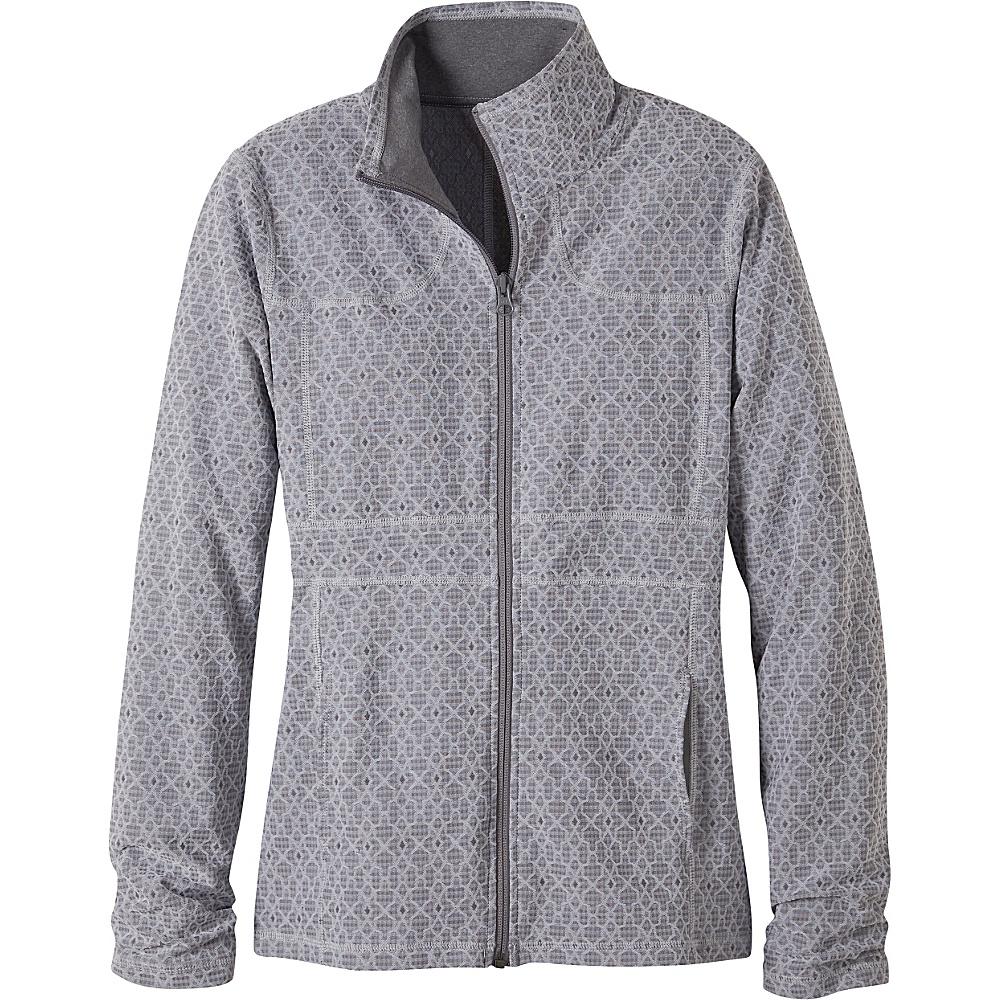 PrAna Reeve Jacket L - Silver Jacquard - PrAna Womens Apparel - Apparel & Footwear, Women's Apparel