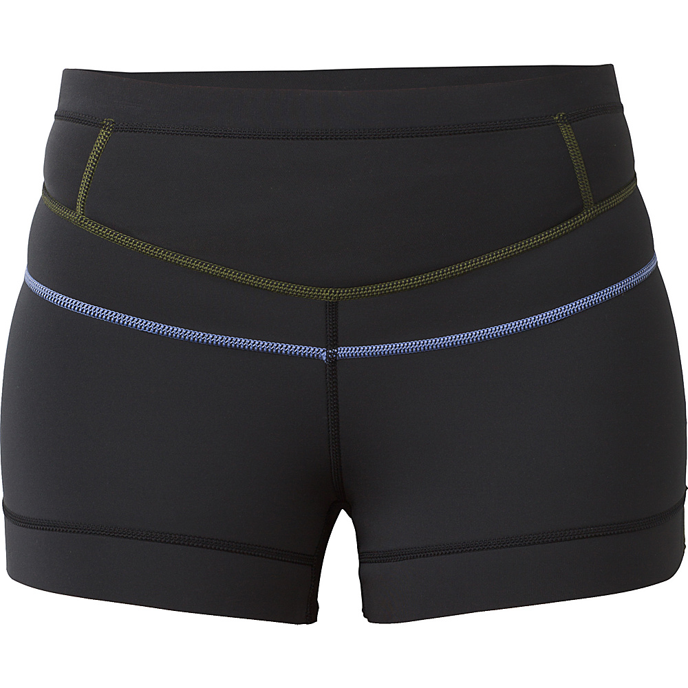 PrAna Hydra Short XS - Solid Black - PrAna Womens Apparel - Apparel & Footwear, Women's Apparel