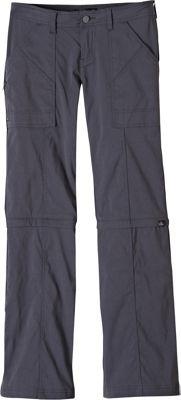 PrAna Monarch Convertible Pants - Tall Inseam 2 - Coal - PrAna Women's Apparel