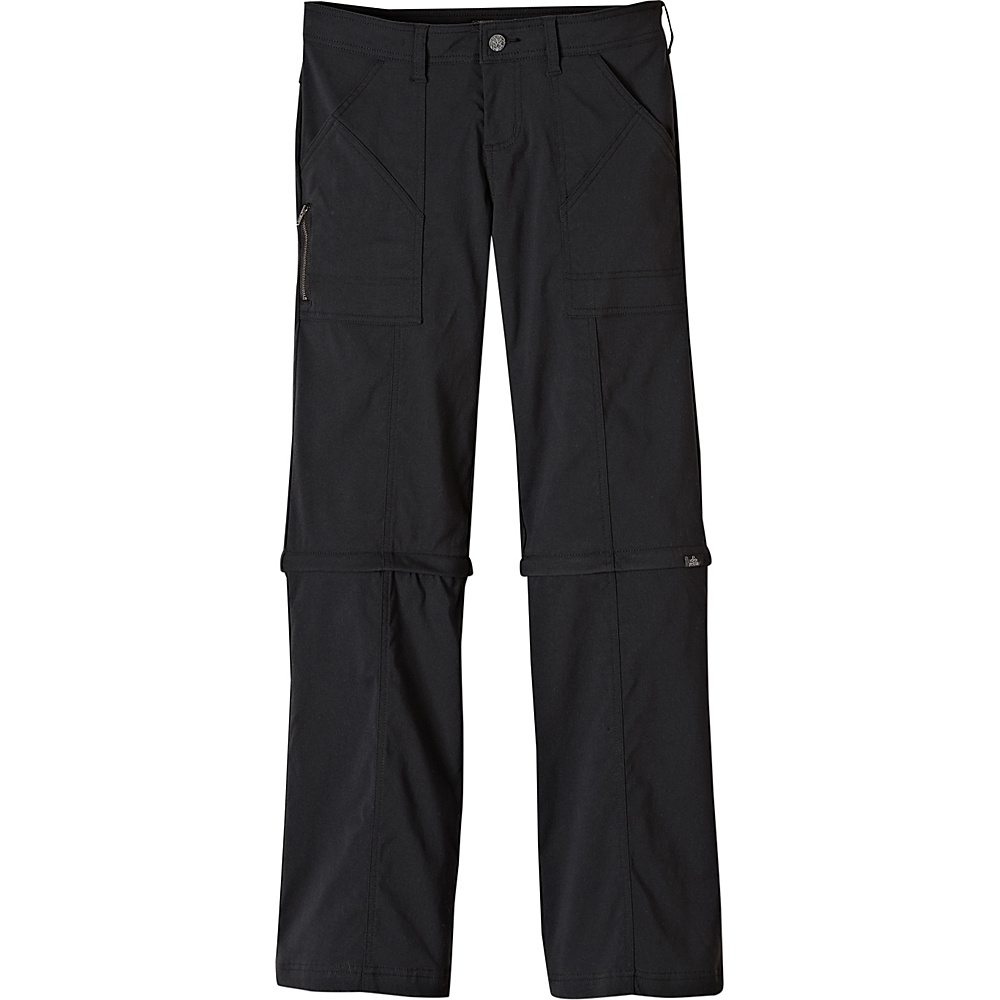 PrAna Monarch Convertible Pants - Tall Inseam 0 - Black - PrAna Womens Apparel - Apparel & Footwear, Women's Apparel