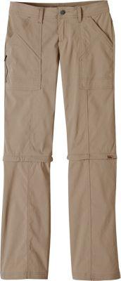 PrAna Monarch Convertible Pants - Tall Inseam 2 - Dark Khaki - PrAna Women's Apparel