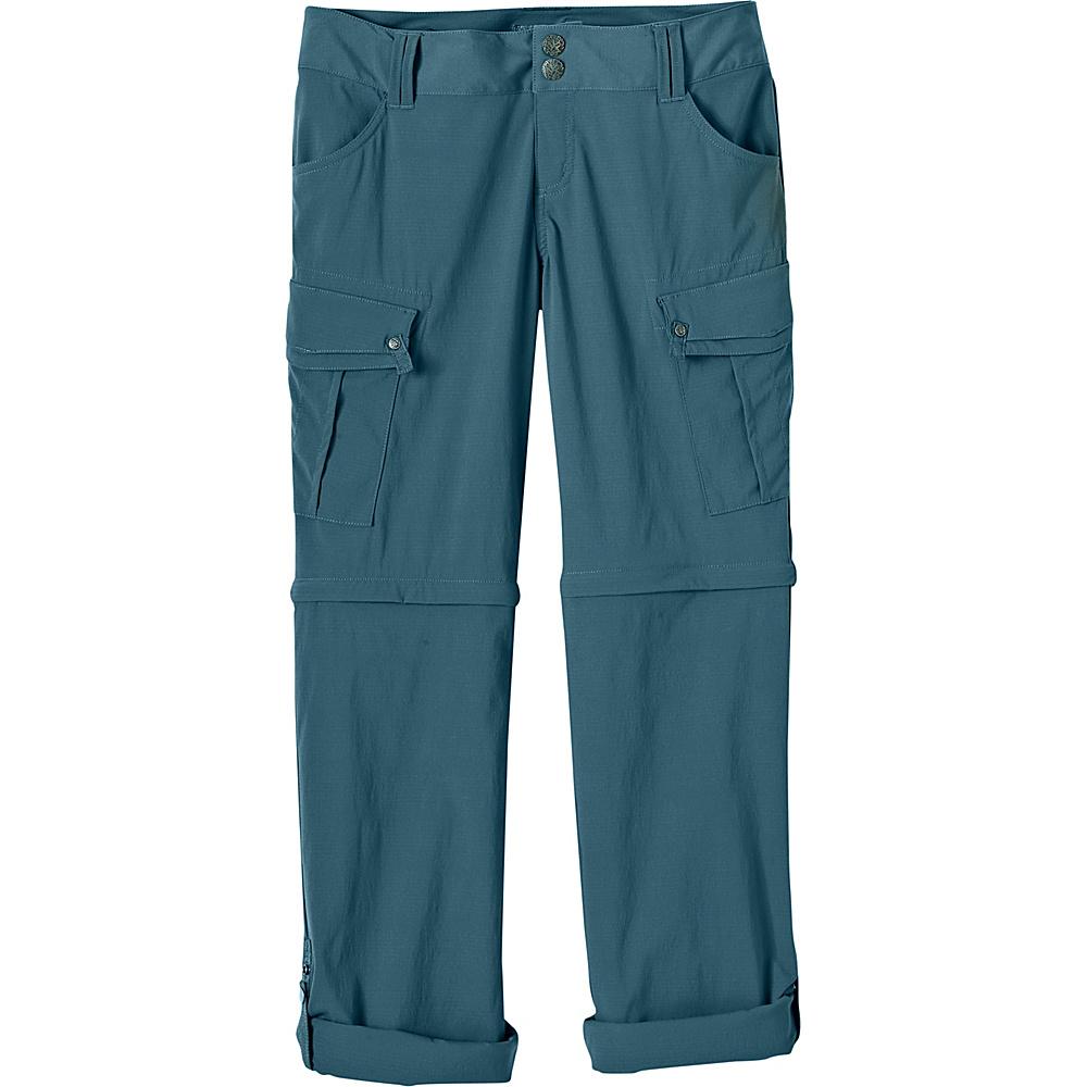 PrAna Sage Convertible Pants - Short Inseam 4 - Mood Indigo - PrAna Womens Apparel - Apparel & Footwear, Women's Apparel