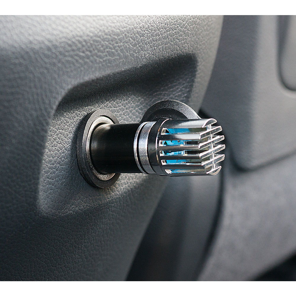 High Road Car Air Purifying Ionizer Black High Road Trunk and Transport Organization