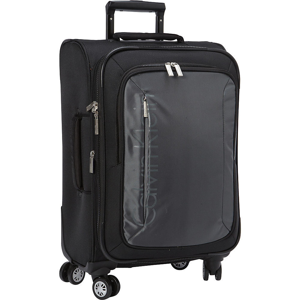 Calvin Klein Luggage Tremont 21 Carry On Softside Spinner Grey Calvin Klein Luggage Softside Carry On