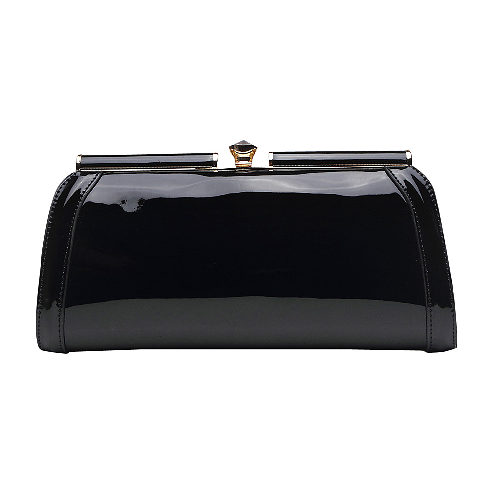 MKF Collection Heaven Clutch Bag Black MKF Collection Manmade Handbags