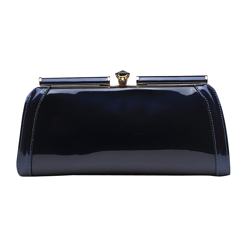 MKF Collection Heaven Clutch Bag Blue MKF Collection Manmade Handbags