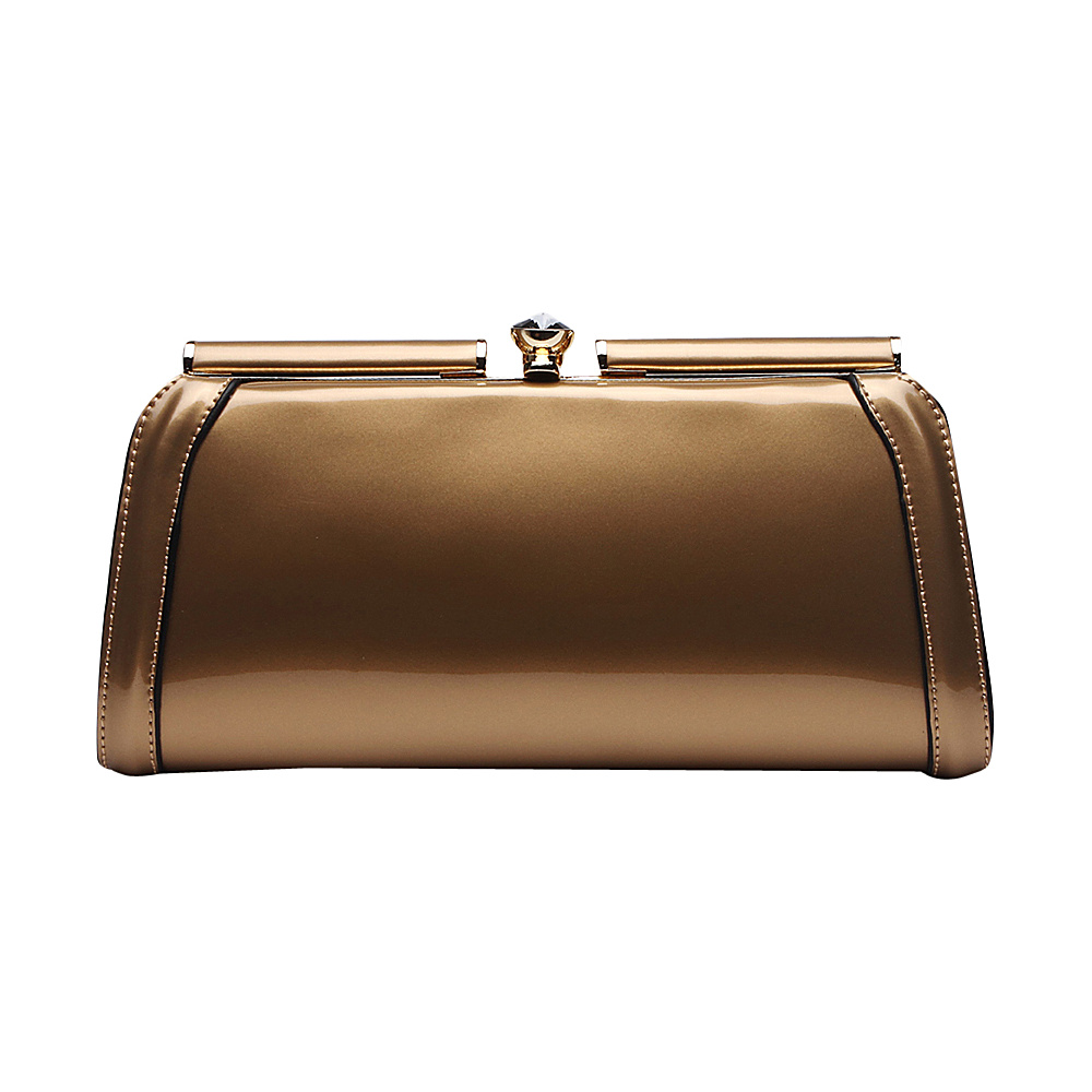 MKF Collection Heaven Clutch Bag Gold MKF Collection Manmade Handbags