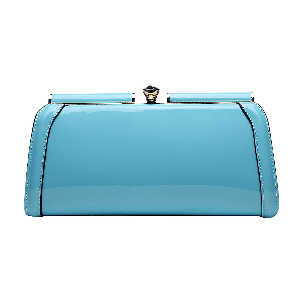 MKF Collection Heaven Clutch Bag Light Blue MKF Collection Manmade Handbags