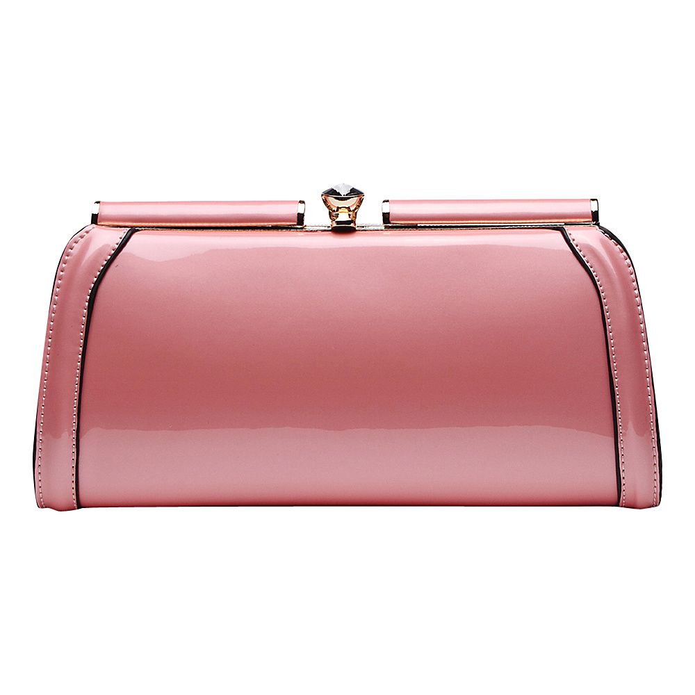 MKF Collection Heaven Clutch Bag Pink MKF Collection Manmade Handbags