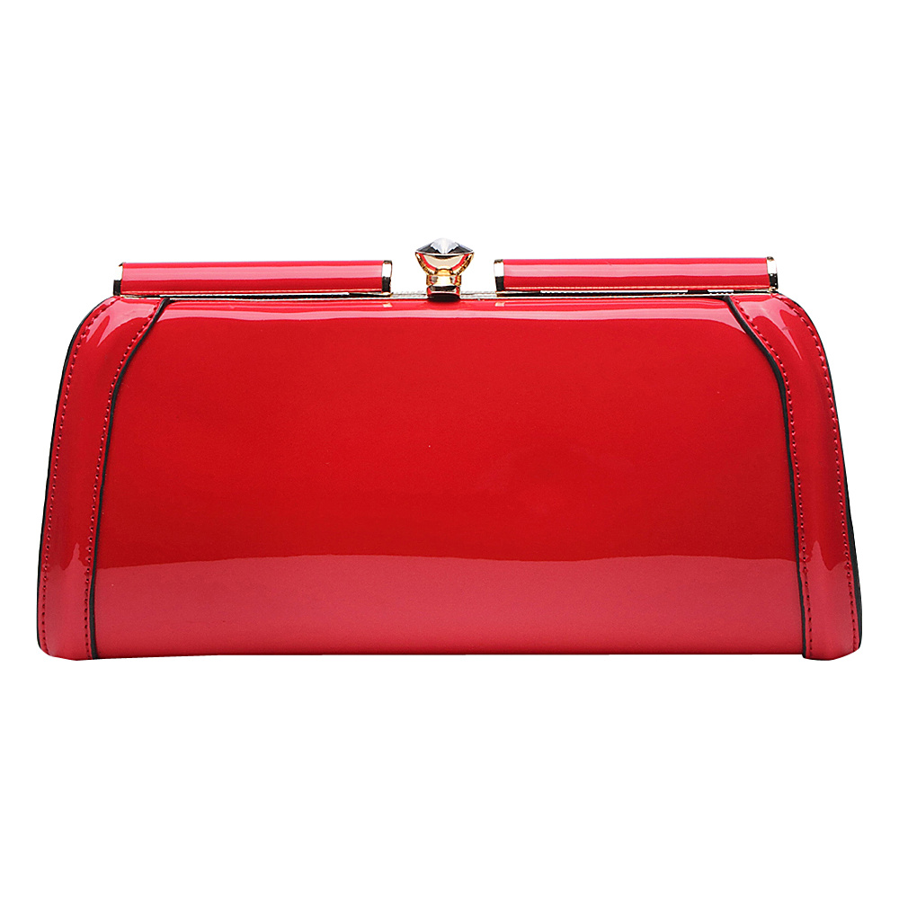 MKF Collection Heaven Clutch Bag Red MKF Collection Manmade Handbags