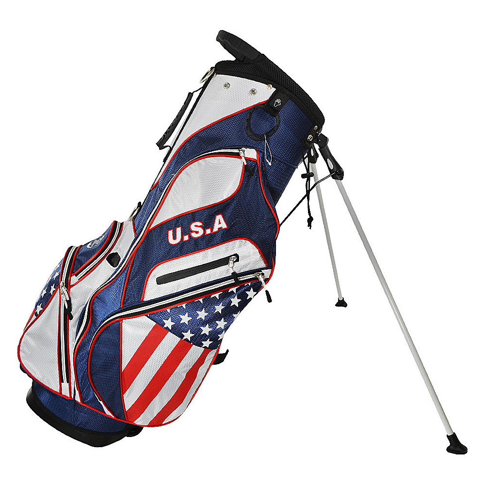 Hot-Z Golf Bags Flag Stand Bag USA - Hot-Z Golf Bags Golf Bags