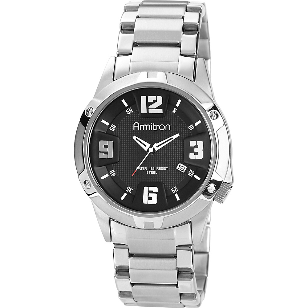 Armitron Mens Bracelet Watch Silver Armitron Watches