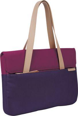 STM Goods 13 inch Grace Deluxe Small Sleeve Dark Purple - STM Goods Women's Business Bags