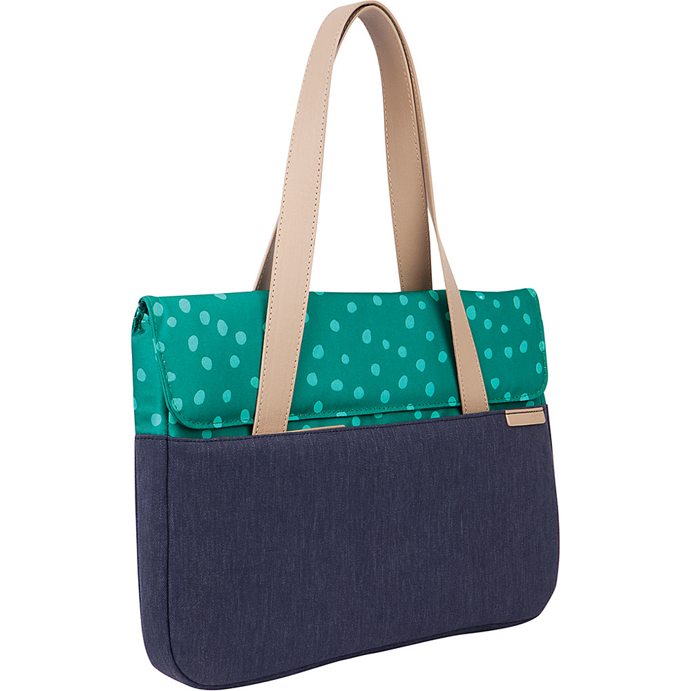 STM Bags 13 Grace Deluxe Small Sleeve Teal Dot Night Sky STM Bags Women s Business Bags