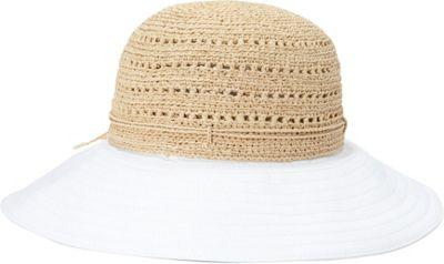 Helen Kaminski Kessy 10 Hat One Size - Natural/White - Helen Kaminski Hats/Gloves/Scarves